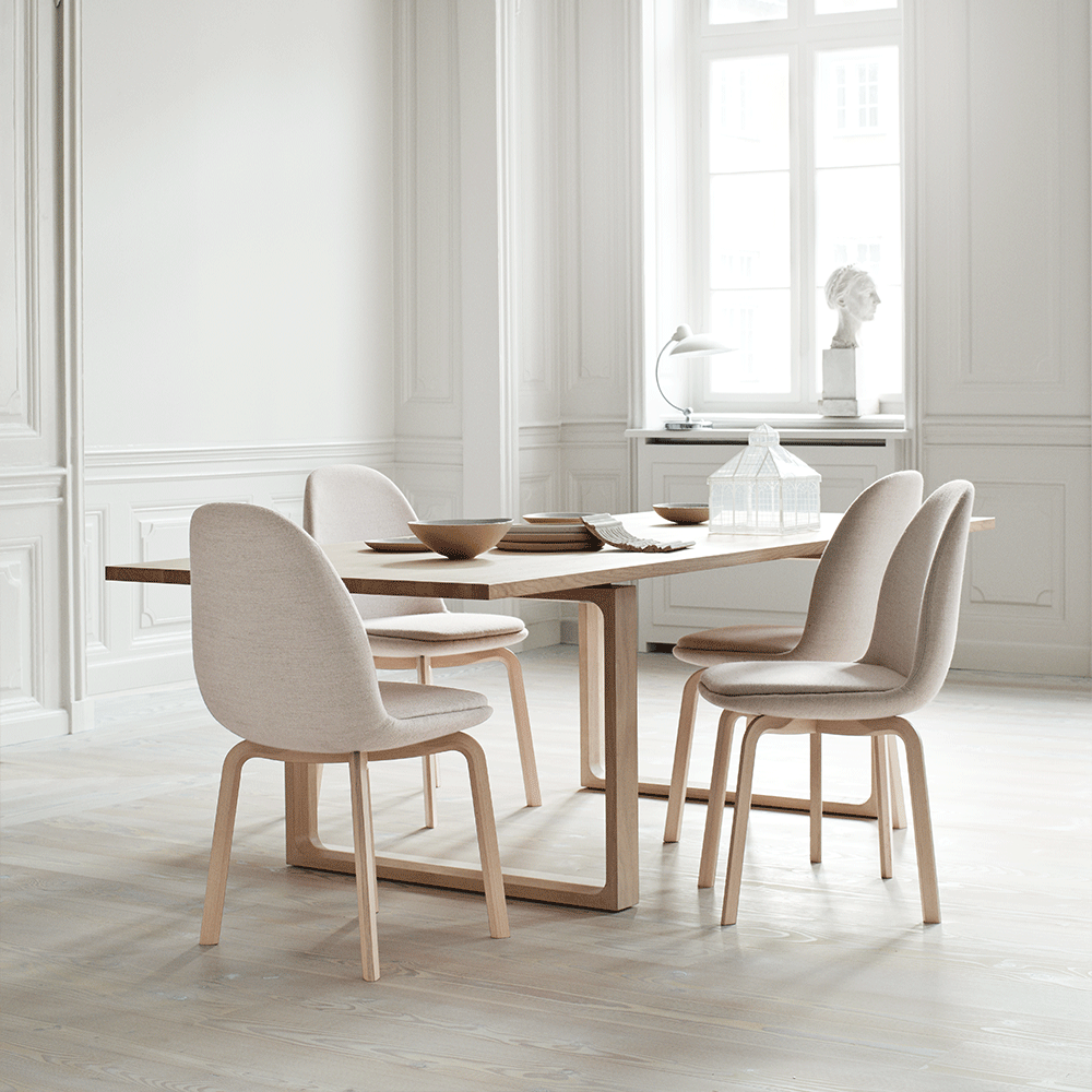 Sammen Side Chair In 2020 Simple Dining Chairs Dining Chairs Comfortable Chair Design
