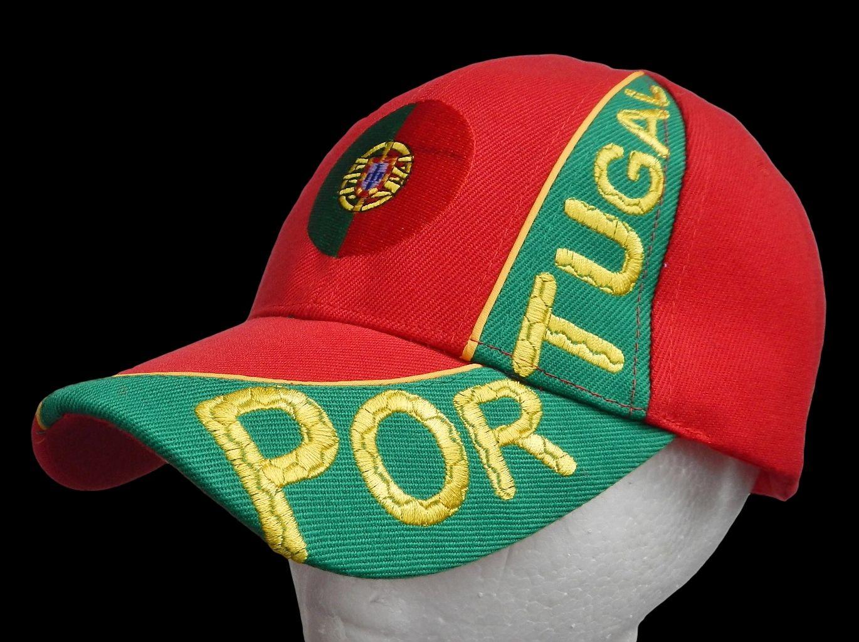 1ebfaeec3f3 Portugal Portuguese Country Flag Soccer Baseball Cap Hat