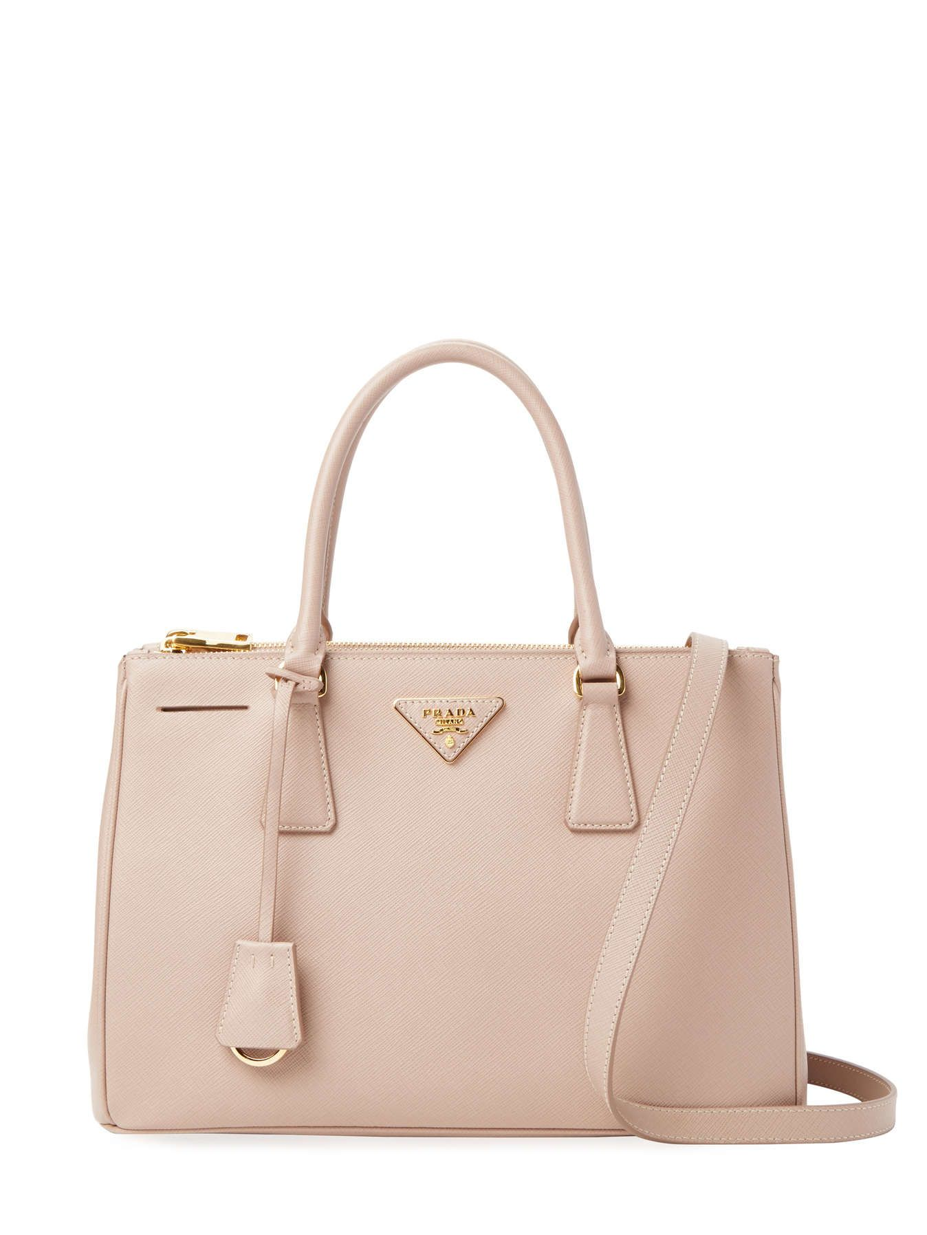 e949580644 Galleria Double Zip Small Saffiano Leather Tote by Prada at Gilt High  Fashion