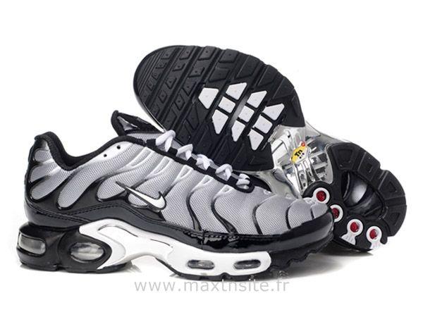 sports shoes 91758 583b8 Discount Sites · Basket Pas Cher · Chaussures de Nike Air Max Tn Requin Homme  Noir et Gris Chaussure Tn Nike