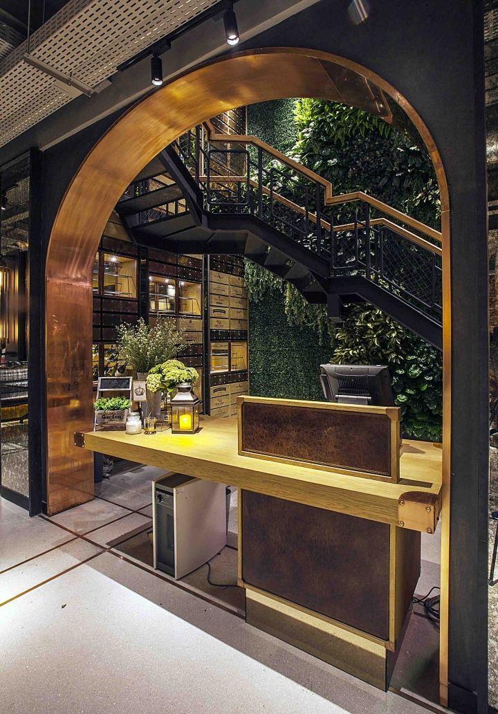 Hurricane S Grill Restaurant By Metaphor Interior Jakarta Indonesia Retail Design Blog Restaurant Interior Design Restaurant Interior Cafe Design