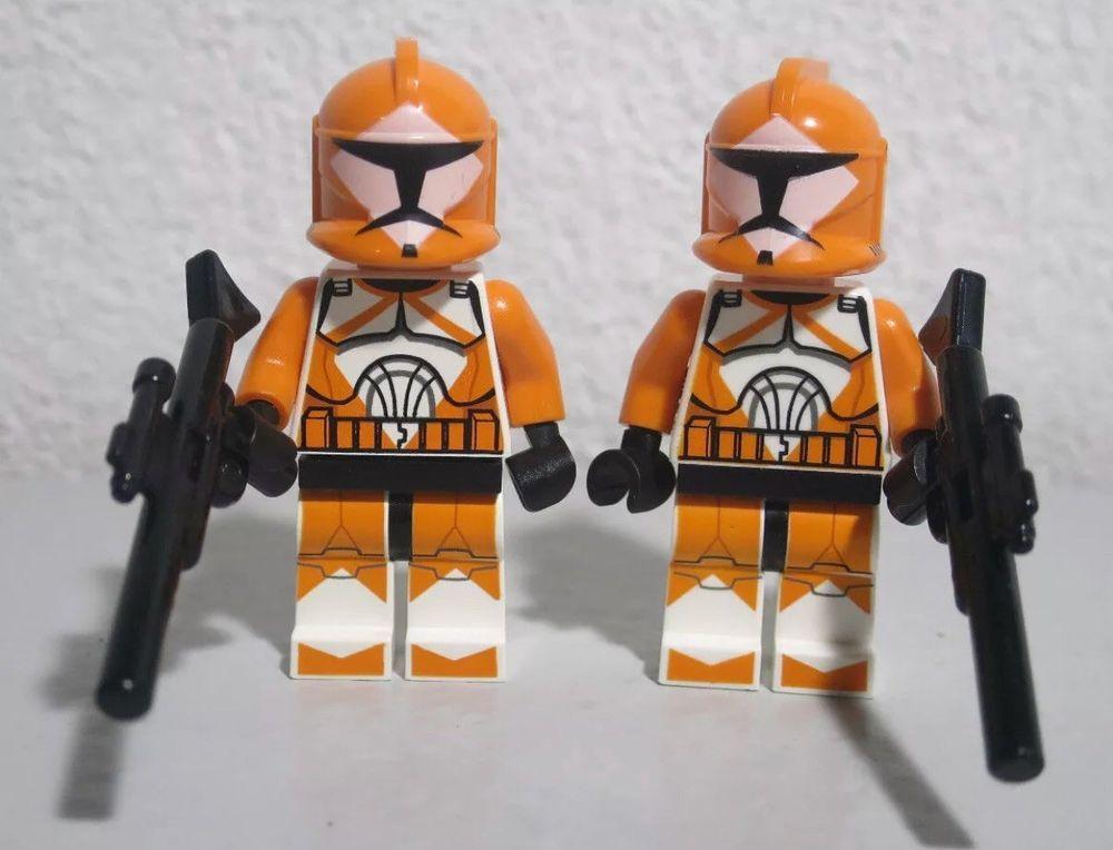 NEW LEGO STAR WARS BOMB SQUAD TROOPER MINIFIG 7913 minifigure figure clone toy