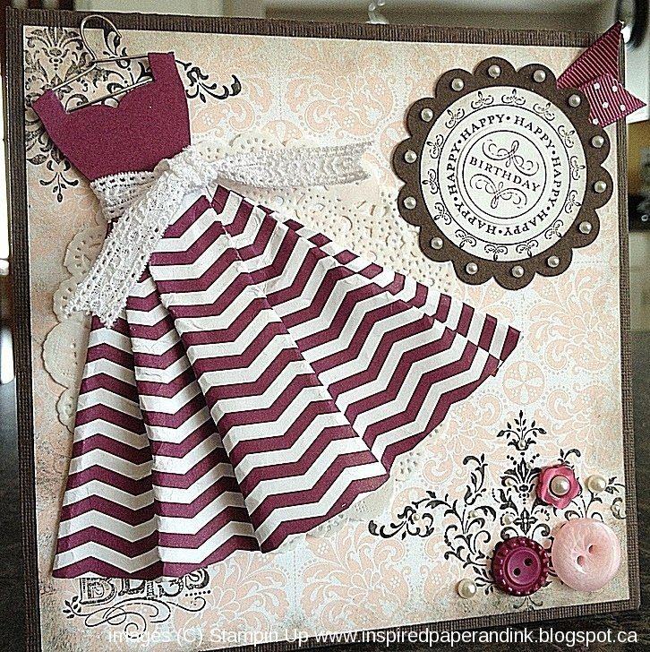 изобретении открытки с днем рождения своими руками платья одно самых красивых