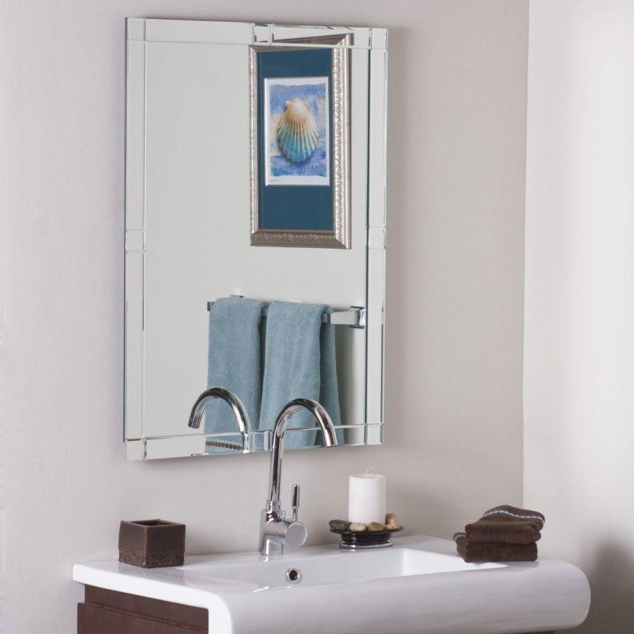Decor Wonderland Frameless Zebra Mirror - SSM414 | For Home ...