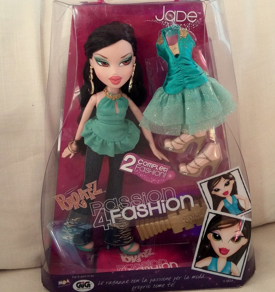2006 Jade - Rare Bratz Passion 4 Fashion | Barbie All ...