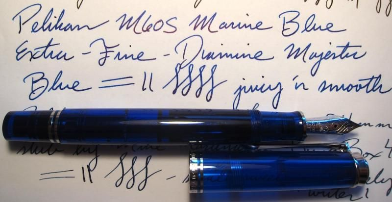 Pelikan M605 Marine Blue Special Edition - The Fountain Pen Network ...