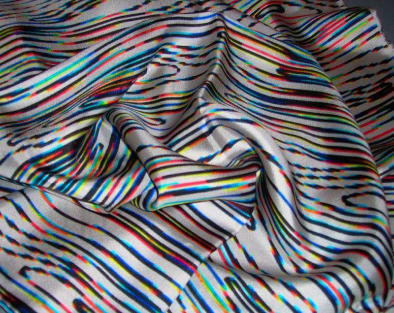 ScanGear scarf. Silk Twill. 185X50 cm.