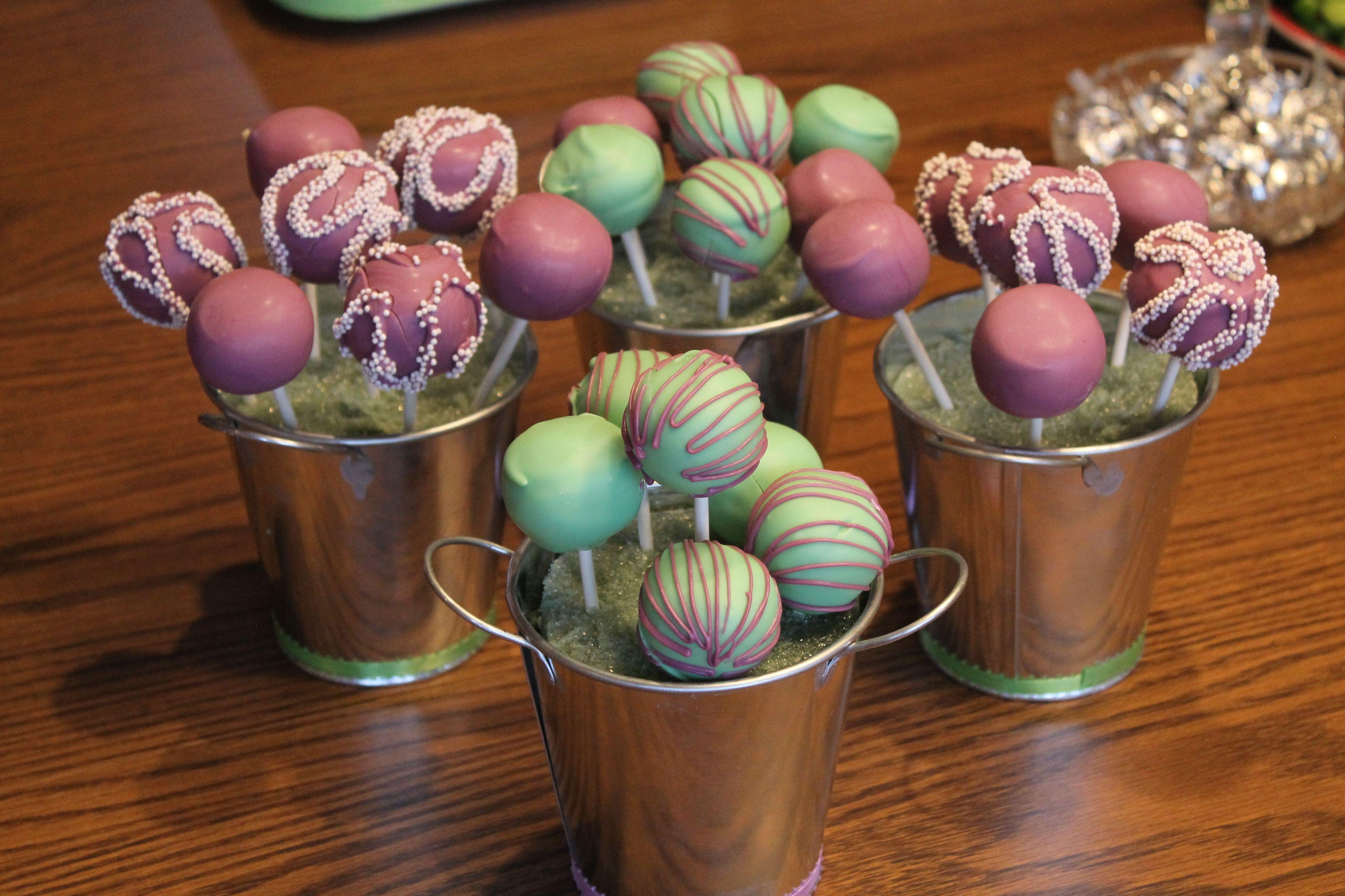 Cake Pops made for my cousins shower Cake pops, Cake