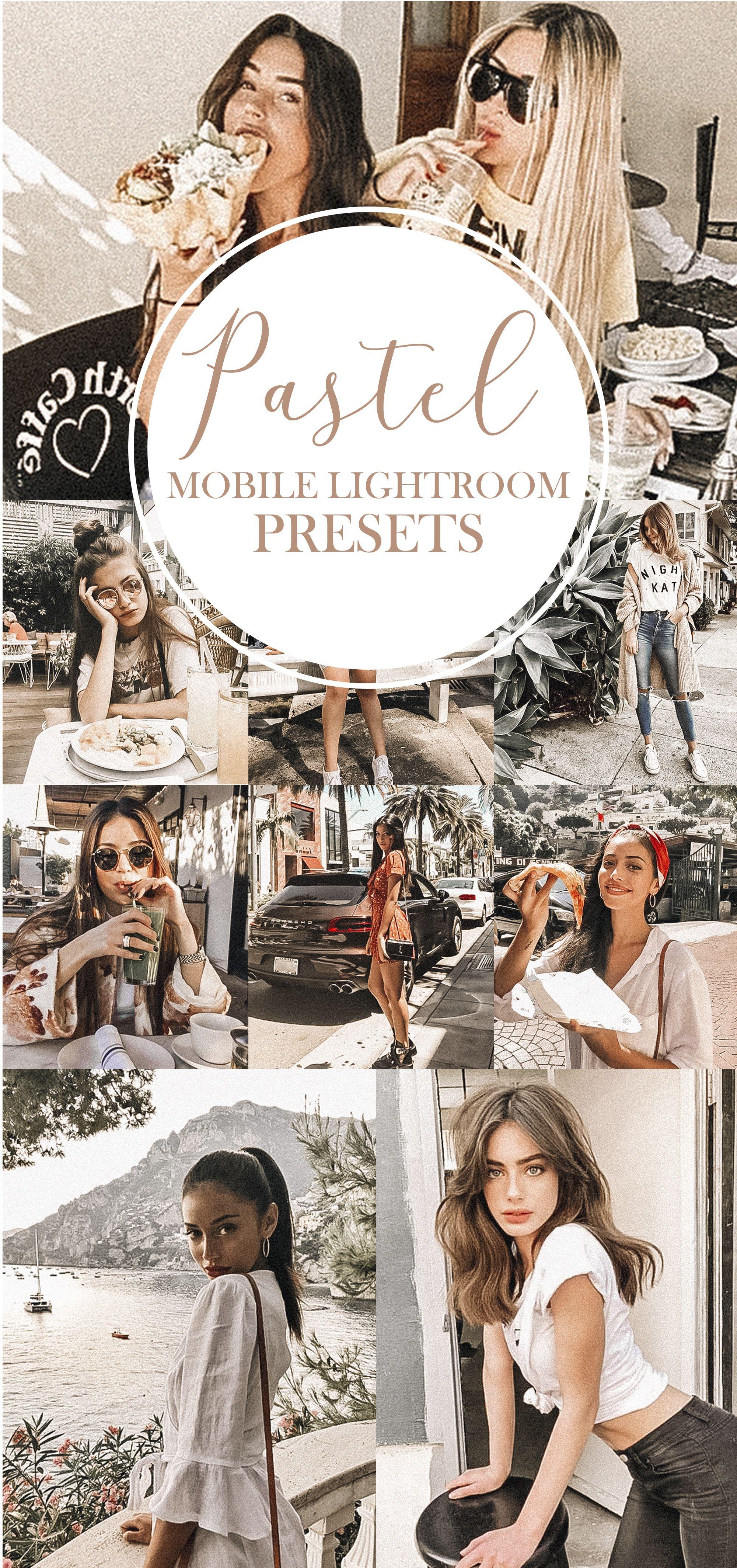 Pastel Preset Pastel Filter Instagram Preset Blogger