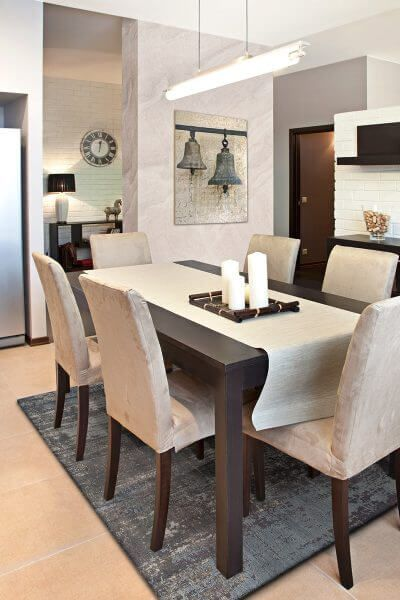 Trend Cotton Chenille Rug Spaces and Room