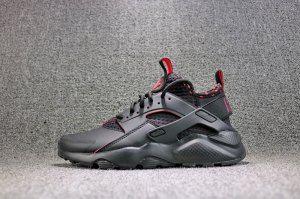 c9ba5b5298f3 ... Mens Womens Nike Air Huarache Run Ultra SE Black Solar Red 875841  005Running Shoes . ...