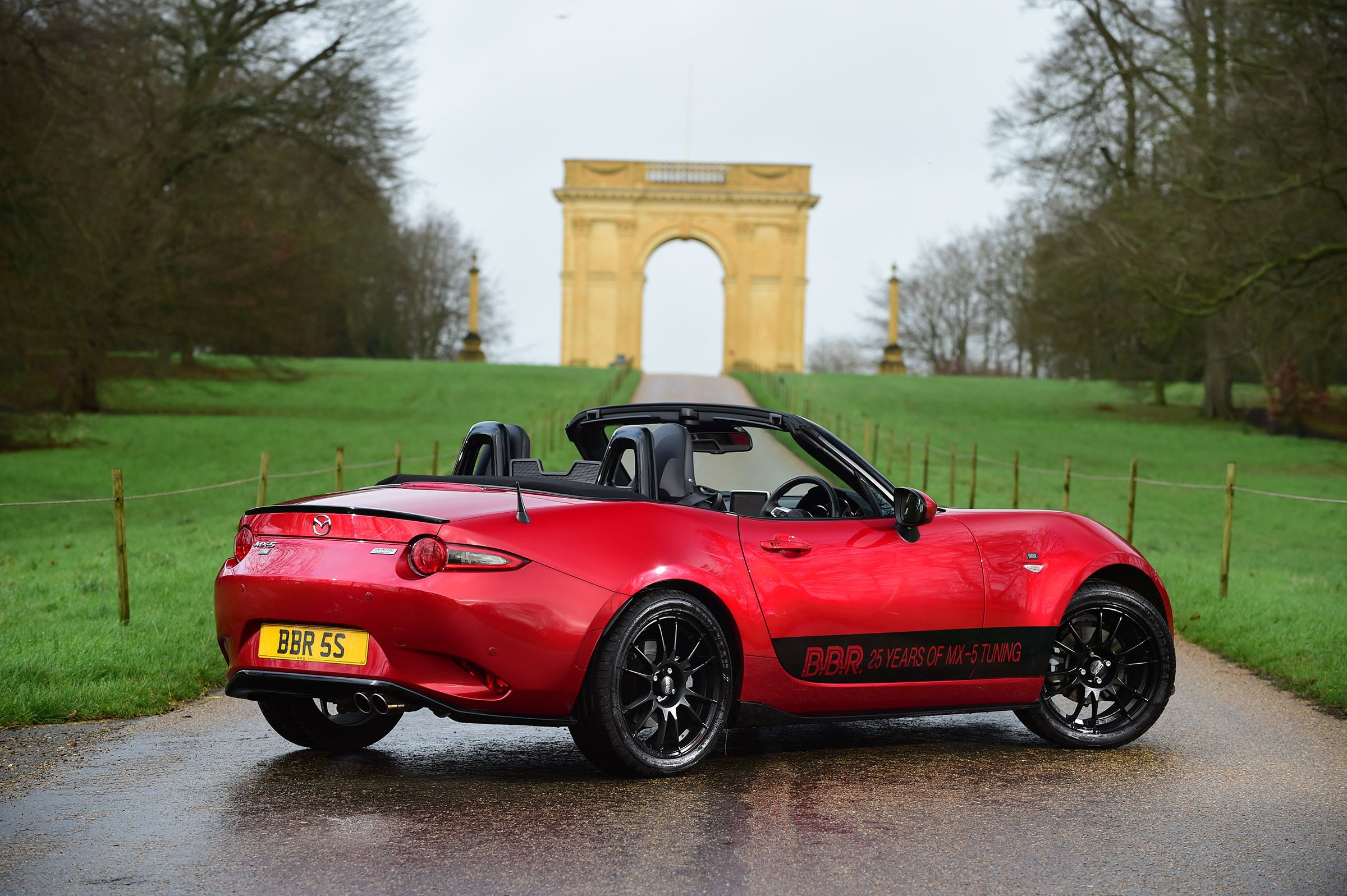 Tuning firm BBR makes Mazda MX 5 roadster more powerful and even