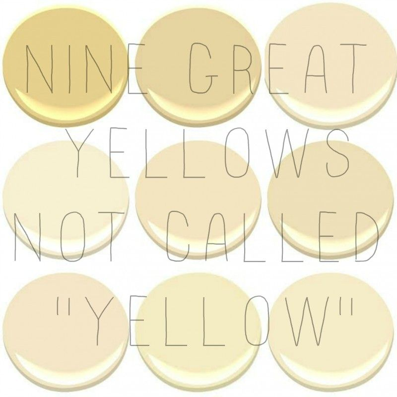 the best interior yellows benjamin moore yellow yellow on 10 most popular paint colors id=61653