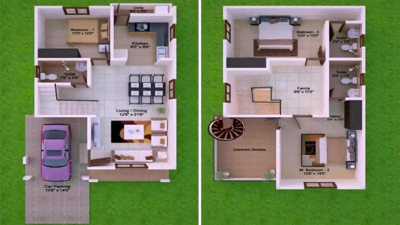 Image Result For 15 By 36 House Map House Plans With Pictures My House Plans Model House Plan