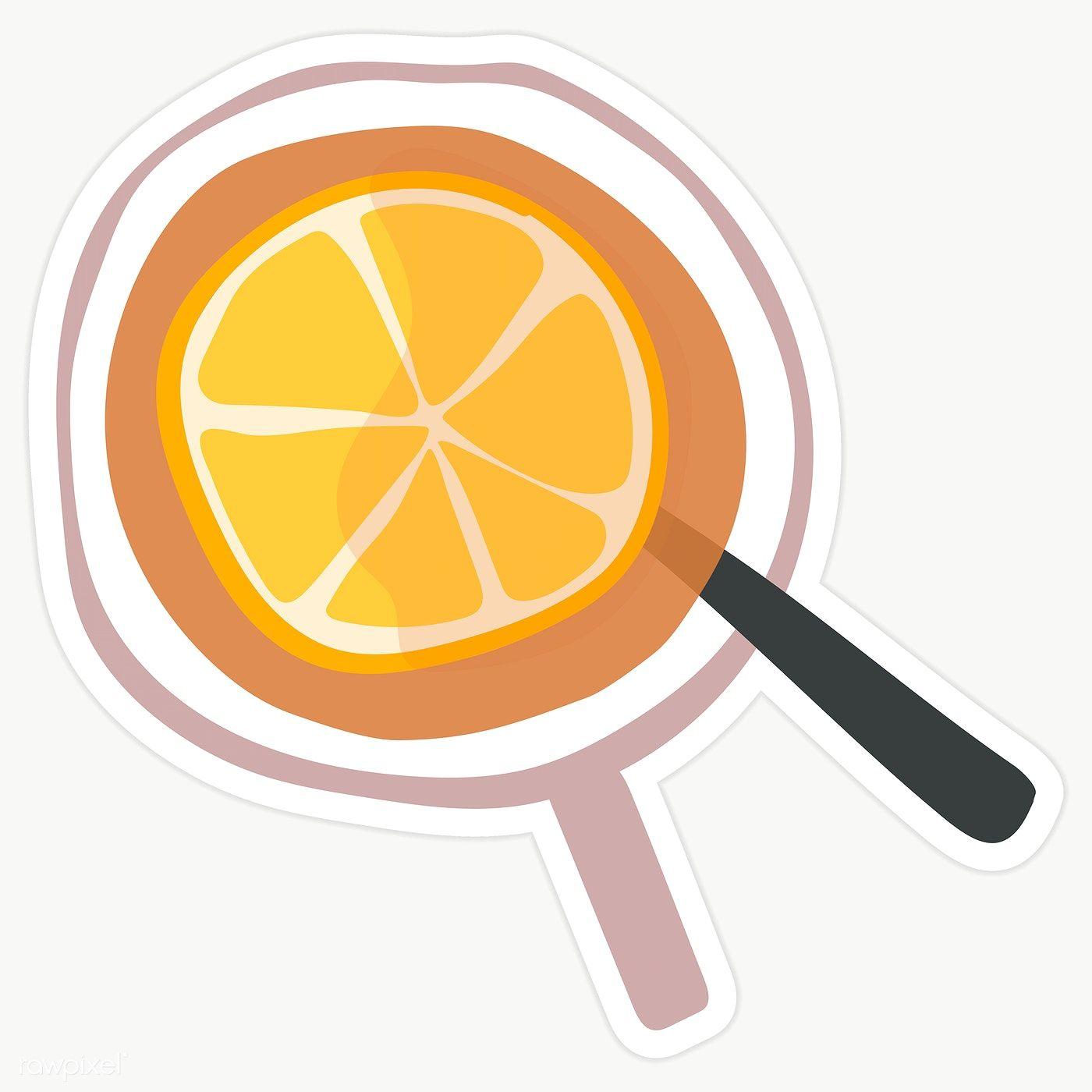 Download Premium Png Of Fresh Iced Lemon Tea Drawing Transparent