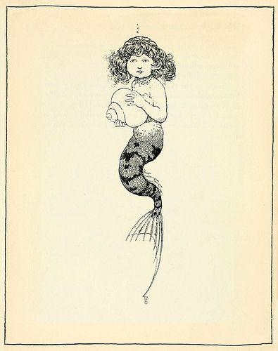 "William Heath Robinson ""The Little Mermaid - Hans Andersen`s Fairy Tales"" 1913"