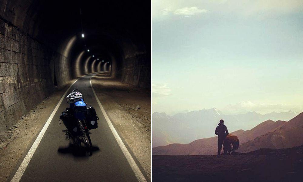 Fotógrafo viaja pelo mundo de bike e registra fantásticas imagens