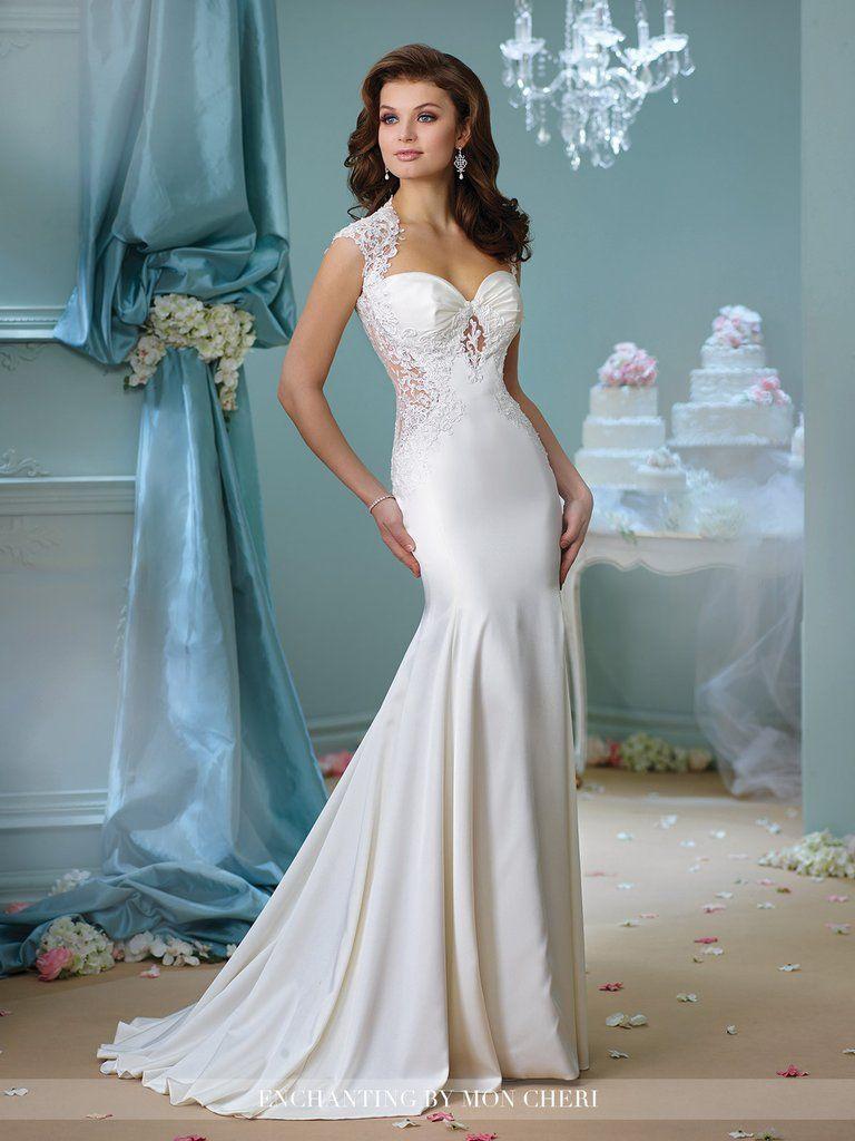 Enchanting by Mon Cheri 216158   Enchanted, Wedding dress and Weddings
