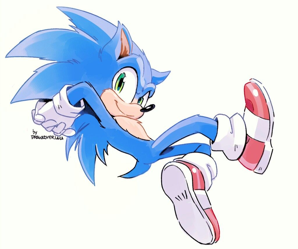 Media Tumblr By Drawloverlala Oh I Almost Forgot I Quickly Drew This Movie Sonic The Day The New Design W Sonic Fan Characters Hedgehog Movie Sonic The Movie