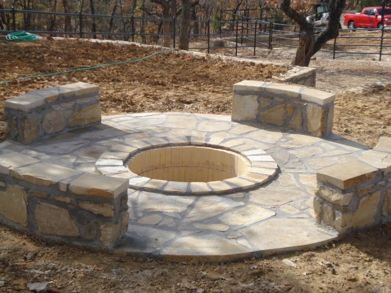 How To Make A Concrete Fire Pit Fire Pit Design Ideas With