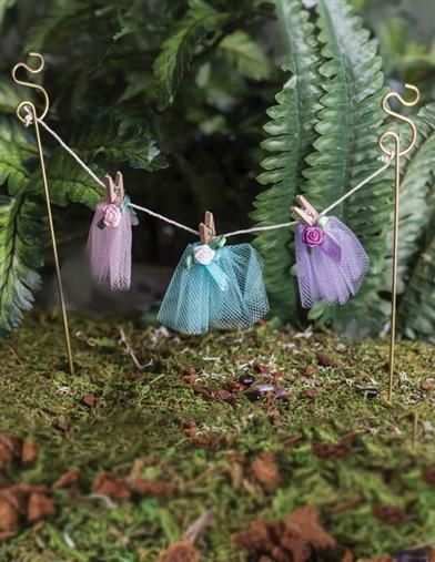 Fairy Clothesline From Victorian Trading Co