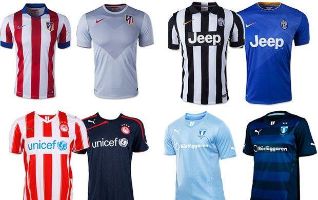 Camisas Champions League - grupo a