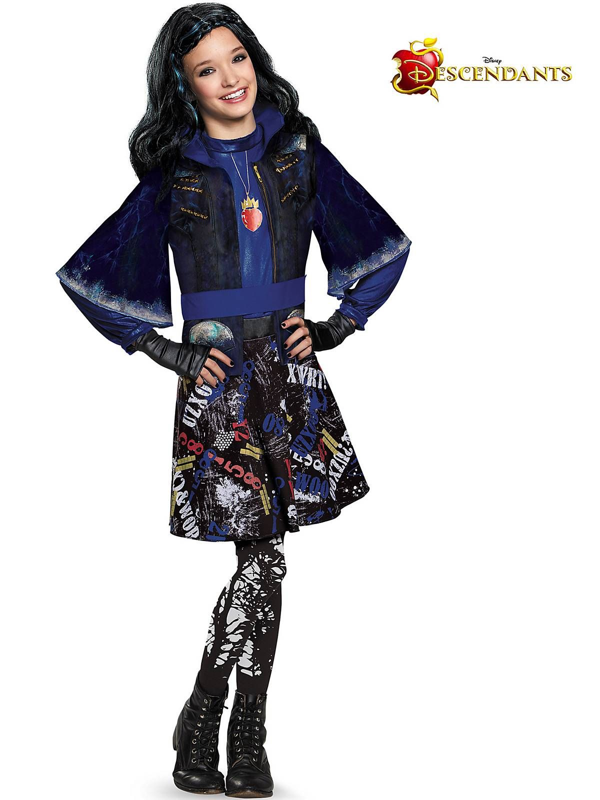 Girls Descendants Evie Isle Of The Lost Deluxe Costume  Wholesale