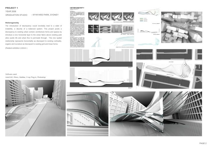 Architecture portfolio ideas for inspire the design of for Architecture student