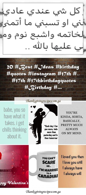 20 Best Ideas birthday quotes instagram 17th