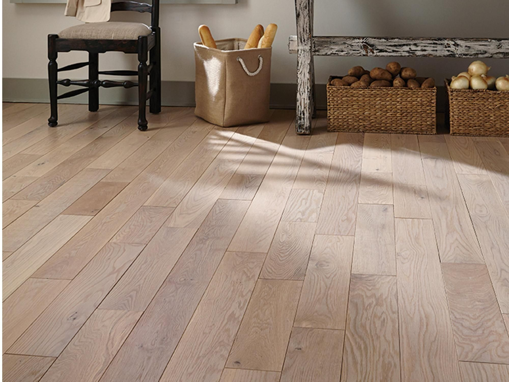 Iceberg Oak Wire Brushed Solid Hardwood In 2020 Herringbone Wood Floor Solid Hardwood Floors Solid Hardwood
