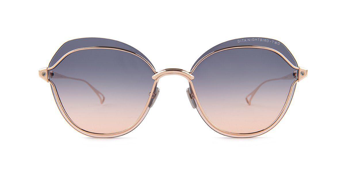 7d7486b37416e Dita - NIGHTBIRD-TWO Rose Gold - Gray sunglasses