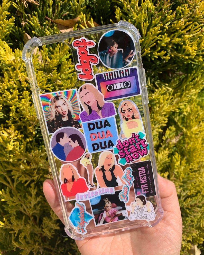 Dua lipa cover in 2021 dua handmade sticker case