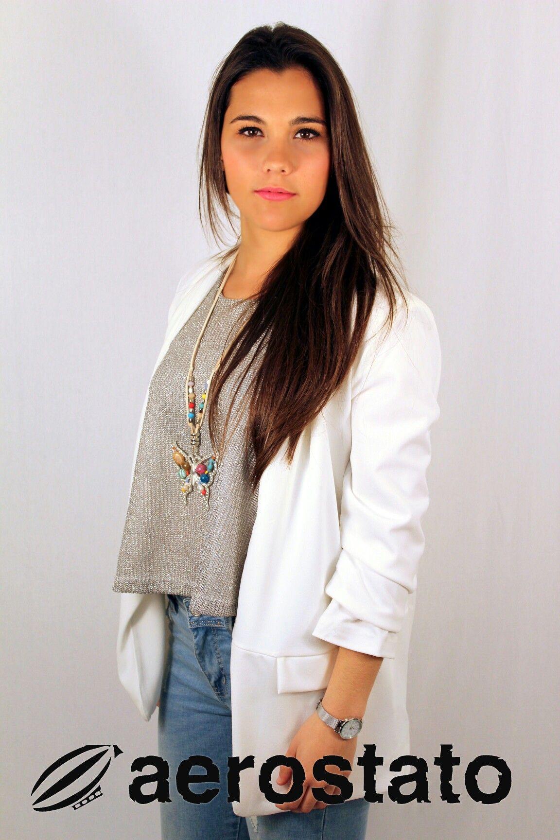 La moda es el poder del estilo🔝🔝🔝 elegimos para ti lo que querrás para ir perfecta¡¡¡ #jacket #shirt #primavera #style #Ronda #aerostatomoda