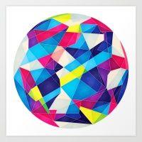 Color Language Art Print