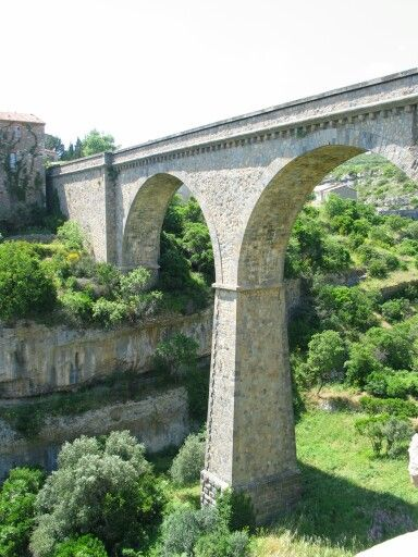 Viaduct in Minerve