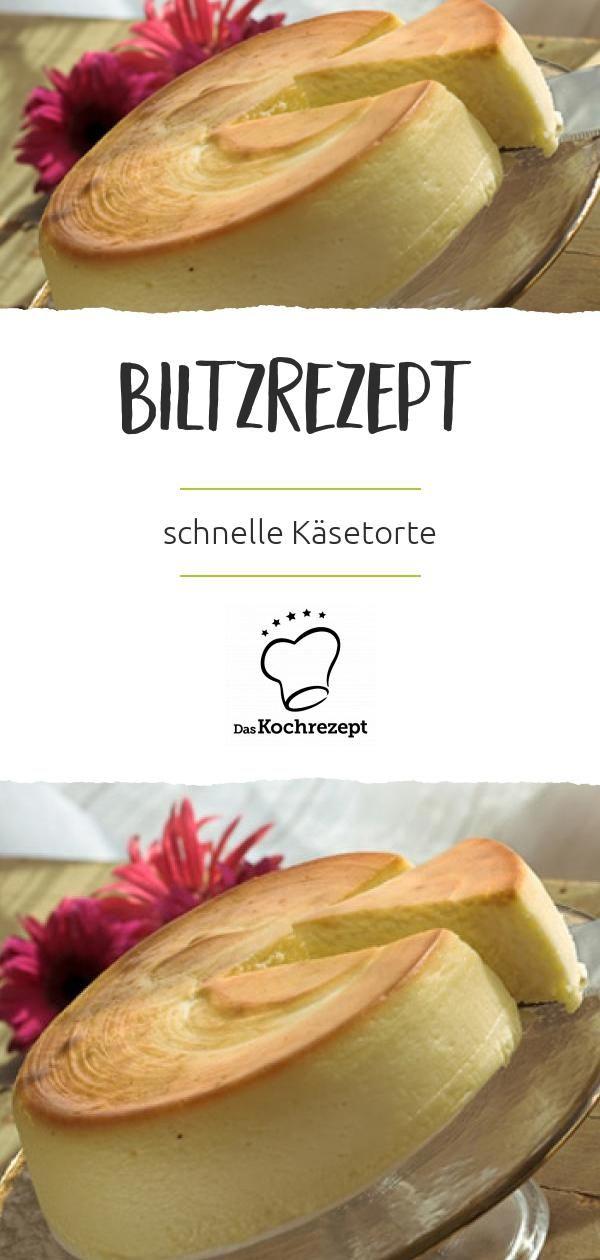 Käse-Quark-Blitz-Torte #schnelletortenrezepte