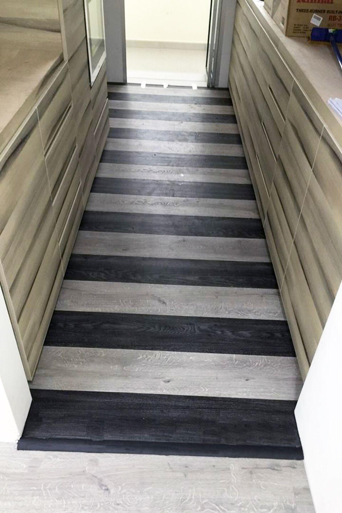 High End Resilient Flooring Herf Aspen Oak Black And
