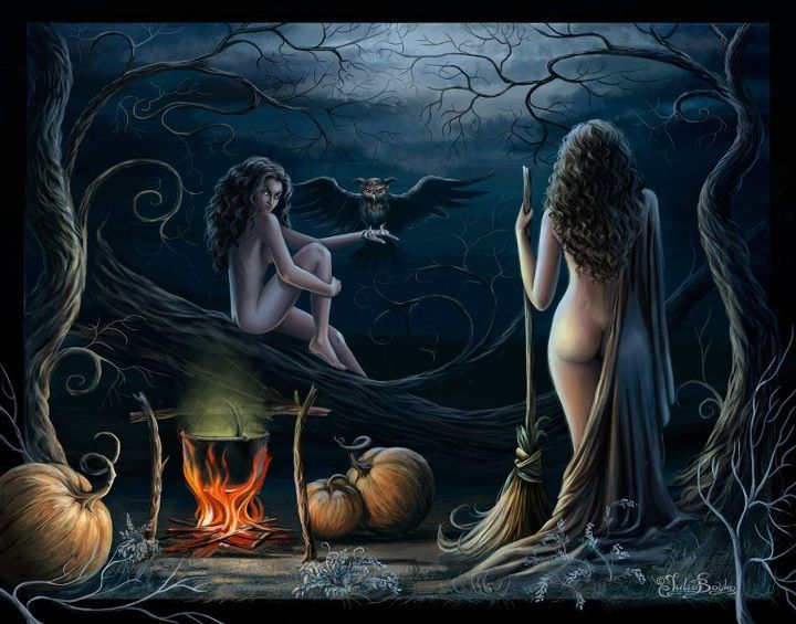 Wiccan fantasy art nude what shall
