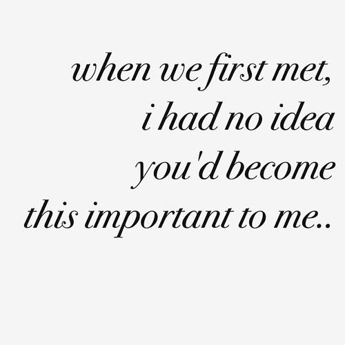 if you knew me nice to meet