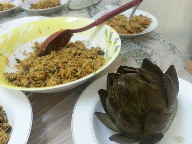 Traditional jerba rice tunisian food international food tunisian chicken and rice recipe food man recipes forumfinder Images