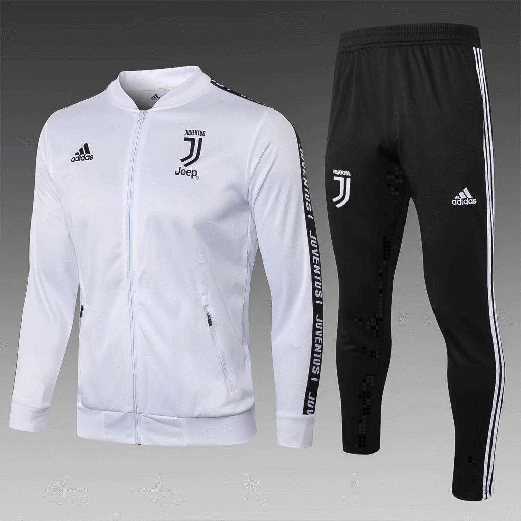 617991617d2 Juventus 18 19 White Men Jacket Tracksuit Slim Fit – zorrojersey