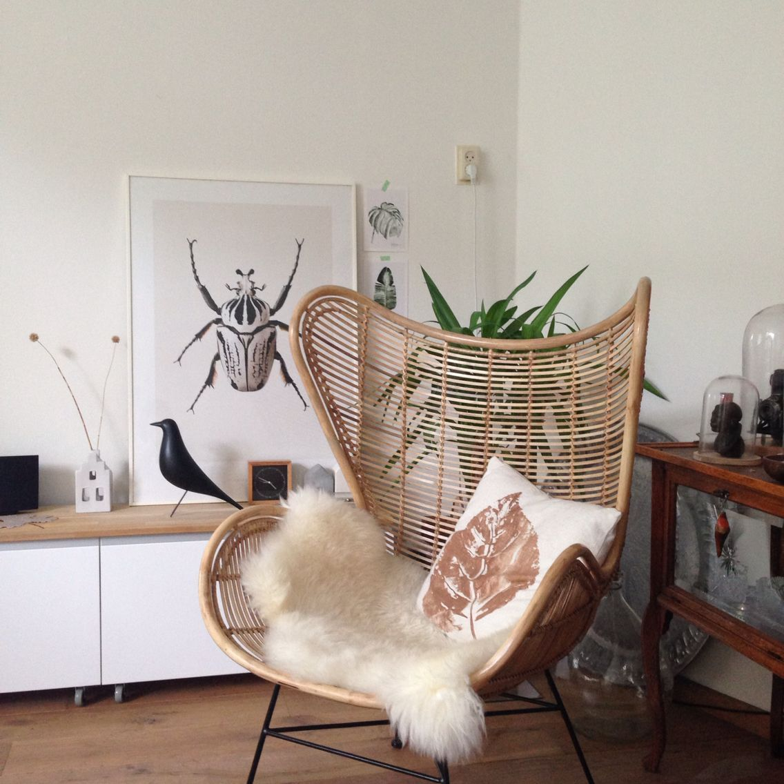 #HKLiving Egg Chair. The New Addition To My Living Room #EggChair