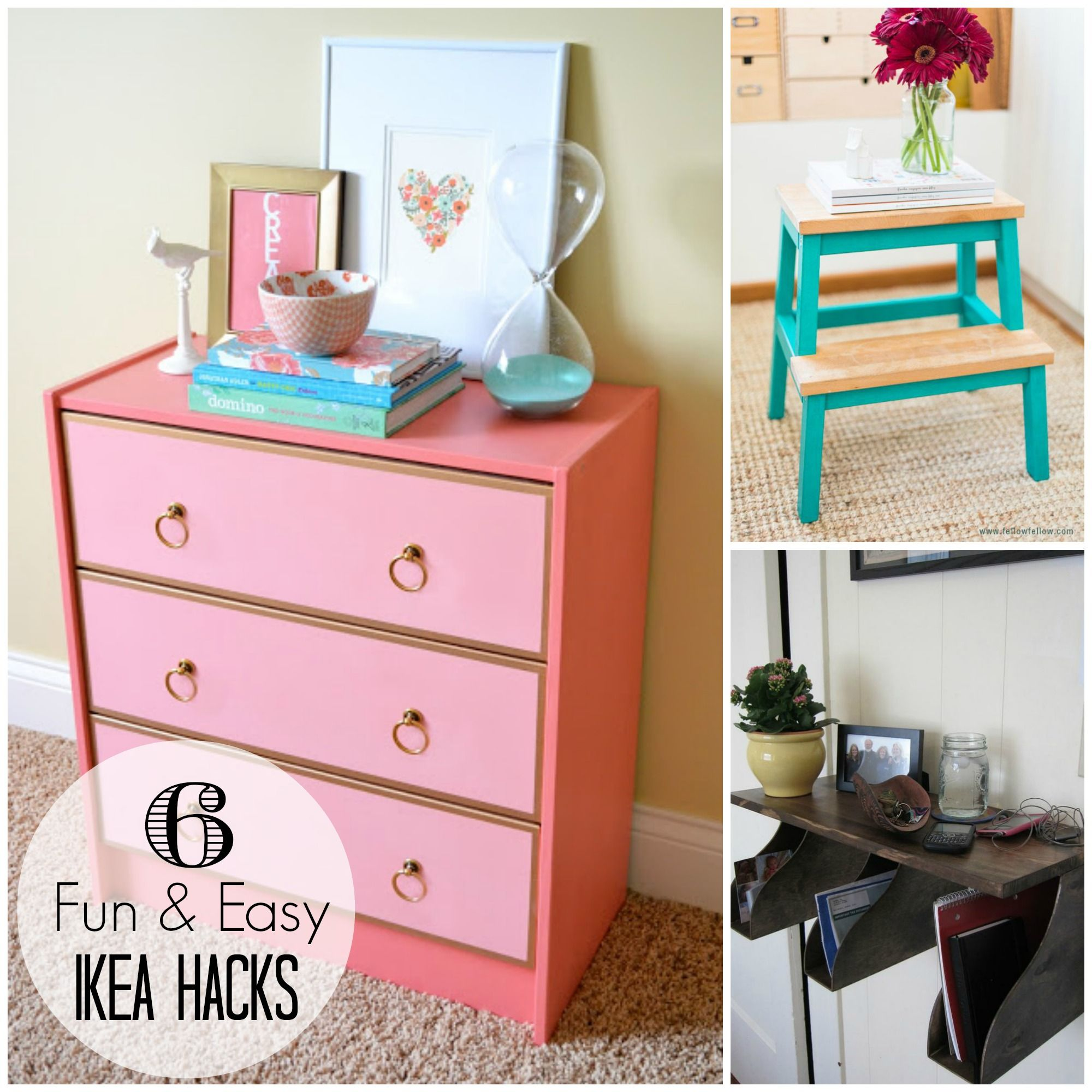 6 Easy Diy Projects Using Inexpensive Items From Ikea