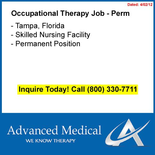 Join the Advanced Medical team in Tampa, Florida This - physical therapist job description