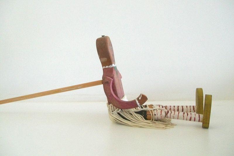 Antique Folk Art Jig Doll