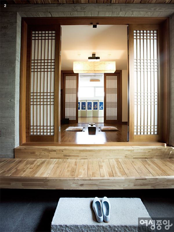 Traditional Interior Design By Ownby: Korean Traditional House Form In The City