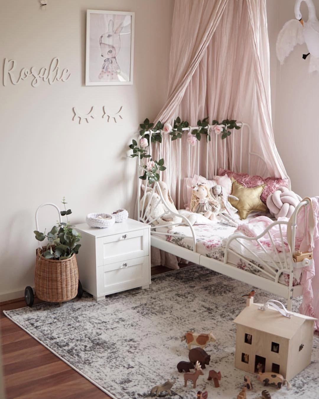 roze kinderslaapkamer | slaapkamer inspiratie | bedroom ideas | kids ...
