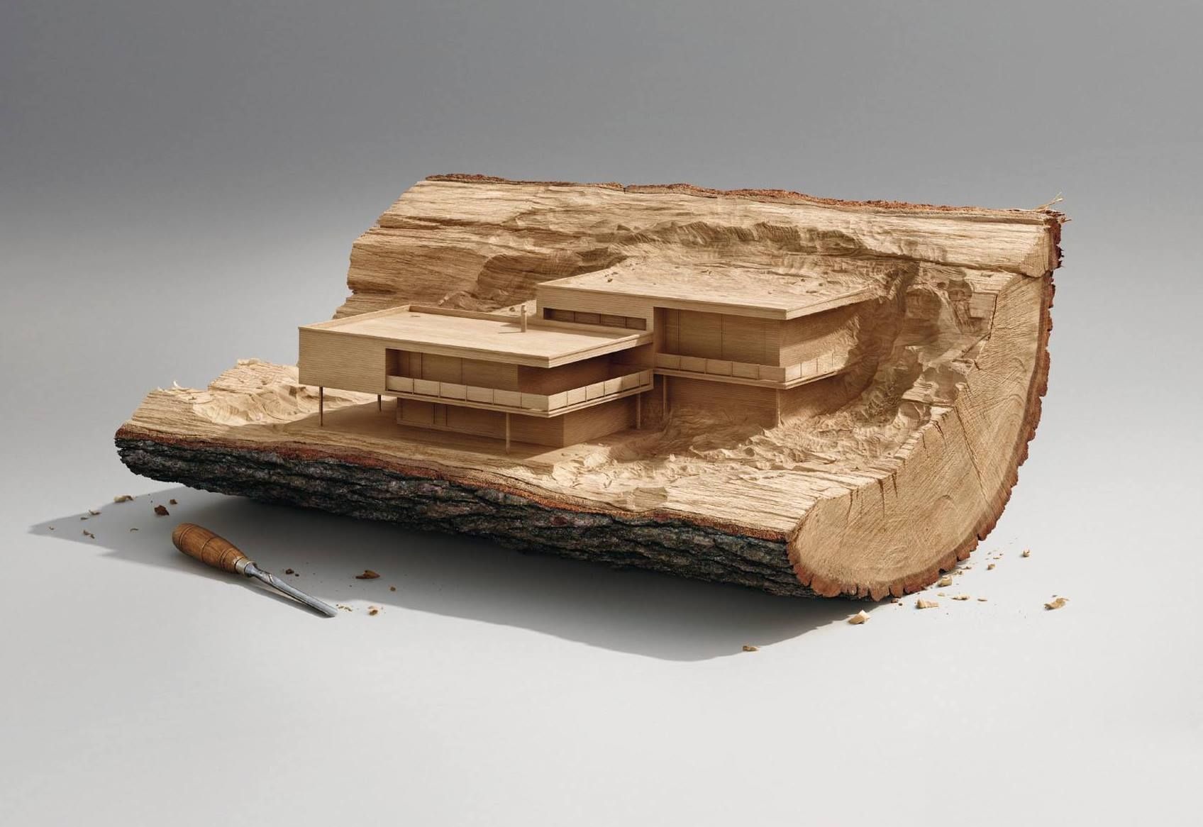 Surachai Puthikulangkura / Illusion - La Manufacture Paris, 2013 for the Musée Cité de l'architecture et du patrimoine
