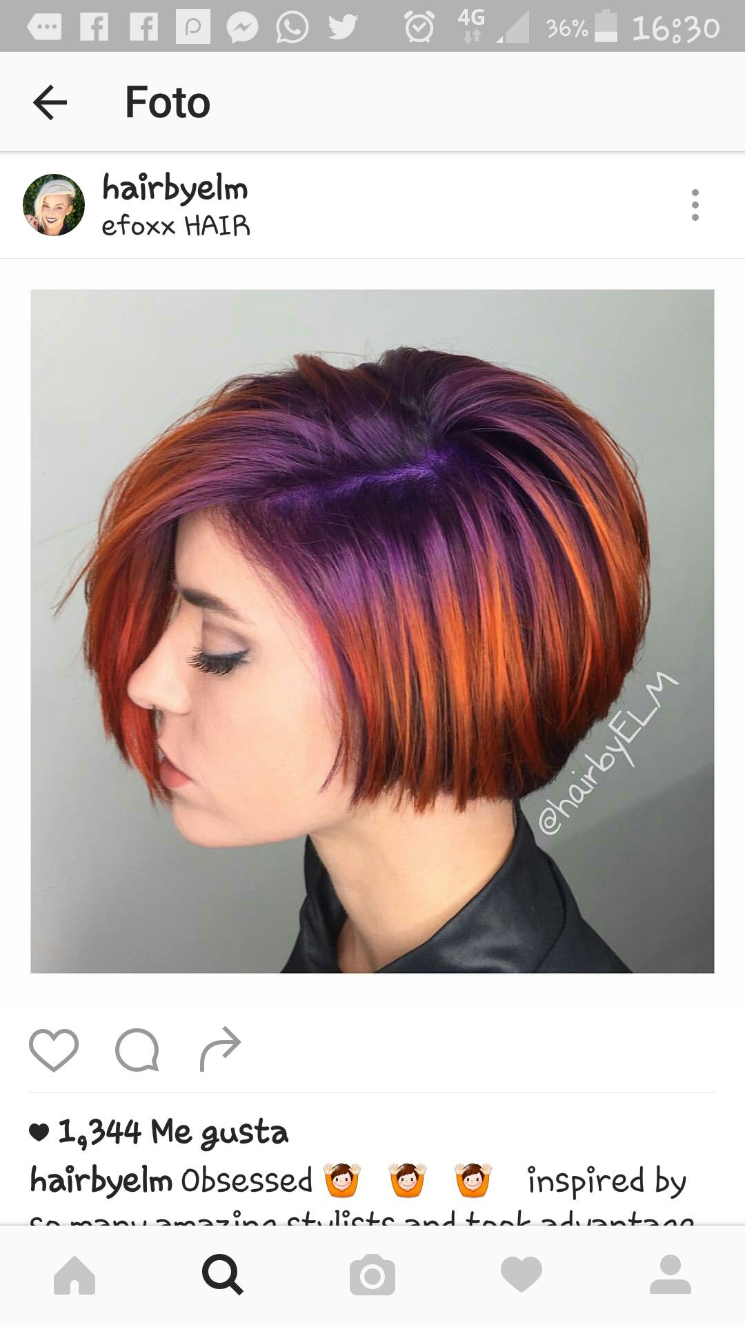 Pin by joanna on hairstyle pinterest
