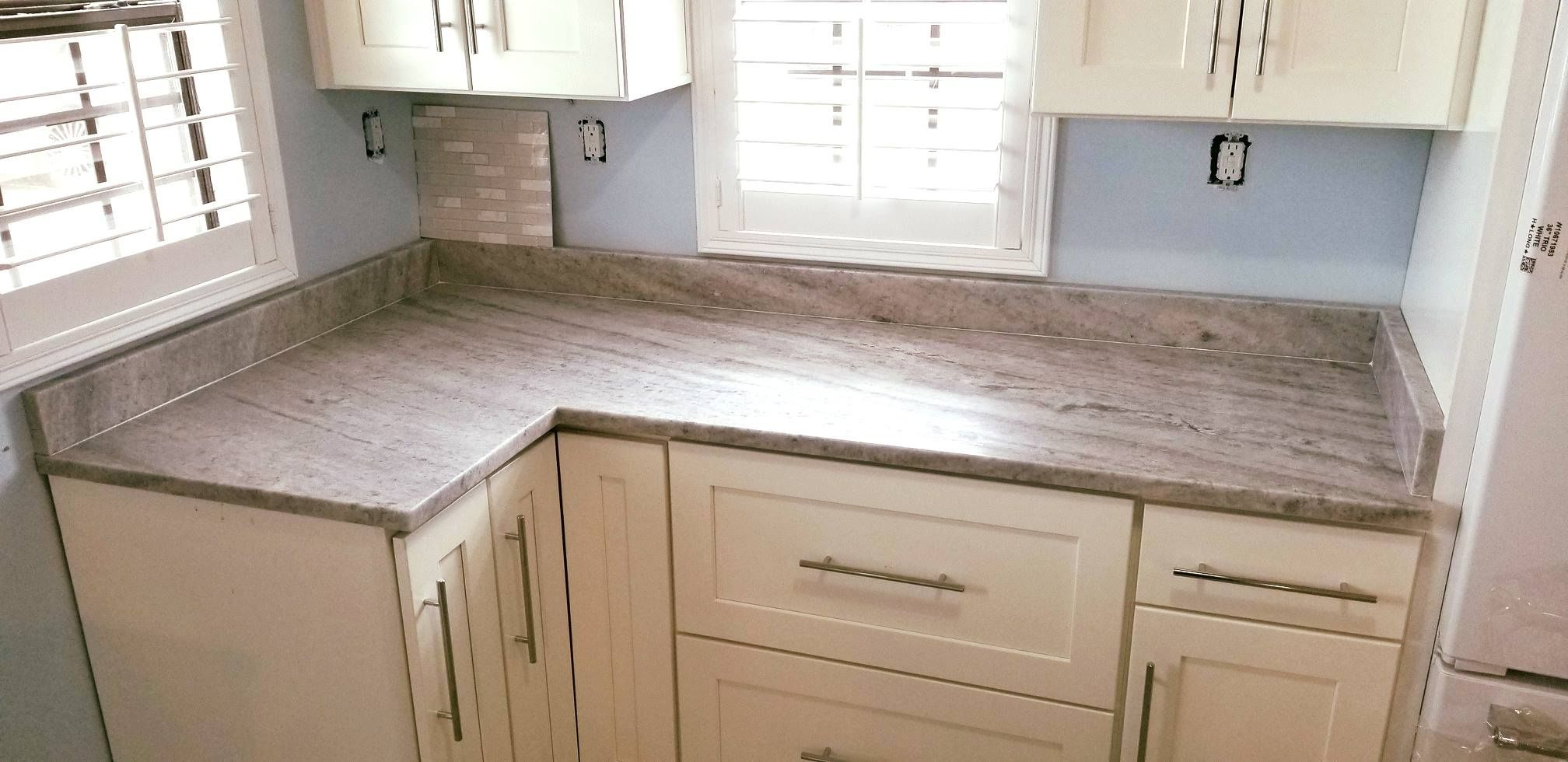 Amazing Custom Made Kitchen Bathroom Countertop Made By Using Glacier White Light Color Granite Whi Natural Stone Countertops Countertops Kitchens Bathrooms